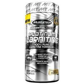 Quemador De Grasa L-carnitina Platinum MuscleTech 180 Tabletas. 02b7940f945