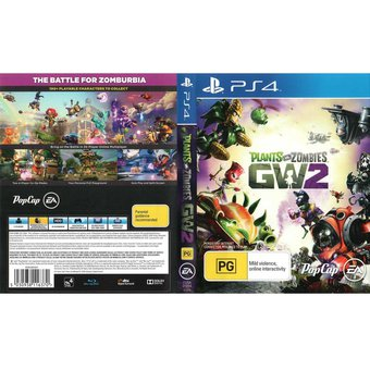 Compra Plantas Vs Zombies Gw2 Ps4 Juego Playstation 4 Fisico Sellado