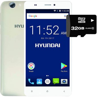 Celular Hyundai Eternity A62 16GB + Micro SD32gb – Dorado