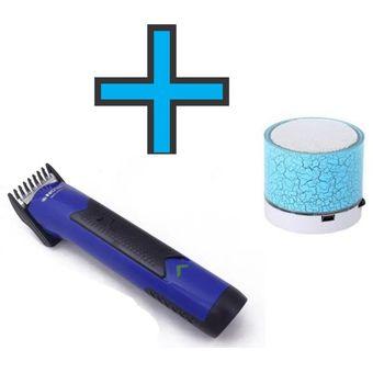 Agotado Parlante Portatil Bluetooth LED- Music + Cortadora De Cabello  Afeitadora Razuradora Profesional Barba c92338e6b7fc