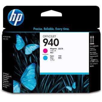 Cabezal de Impresión HP 940 OfficeJet – Magenta y Cian