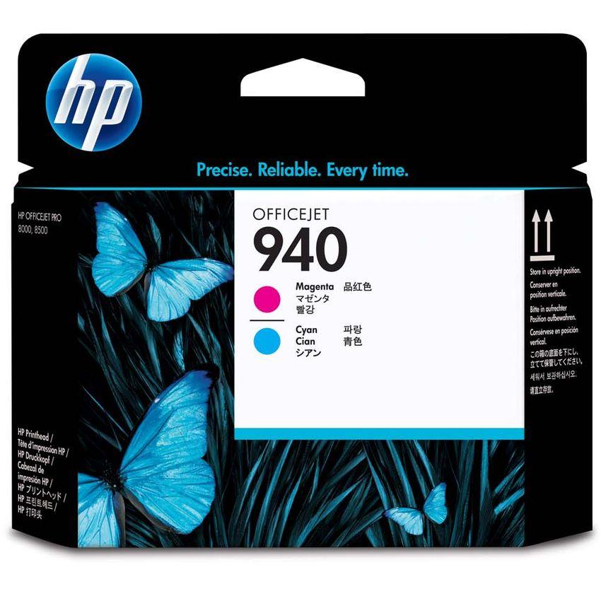 Cabezal de Impresión HP 940 OfficeJet - Magenta y Cian