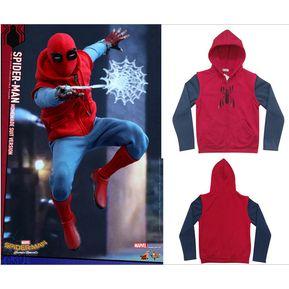 7d19d251f8690 Spider - Man Hero Returns SpiderManHomecoming Sudadera con capucha Cos