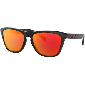 a7a3d599fa Lentes Oakley Frogskins Negro Black Ink - Prizm Ruby