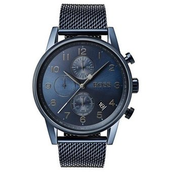 ad0d29fcf492 Compra Reloj Hugo Boss Navigator 1513538 Para Caballero-Azul online ...