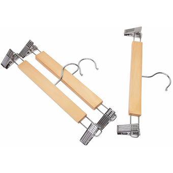 Compra ganchos de madera para colgar pantalones 20 for Ganchos metalicos para colgar ropa