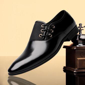 bc495102 Compra Zapatos hombre de vestir con cordones - Negro online | Linio ...