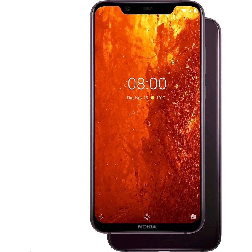 Nokia 8.1 Dual Sim (6GB, 128GB) 4G LTE TA-1119 – Rojo