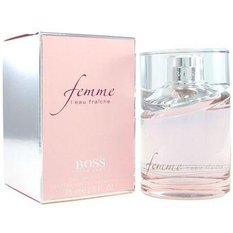 Compra Perfume Para Dama Hugo Boss Femme Eau De Parfum 75 Ml Online