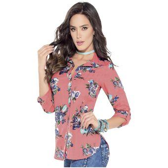 27a258591 Agotado Blusa Adulto Femenino Marketing Personal 85480 Estampado Flores
