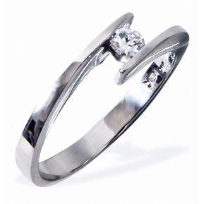 8320476faa20 Anillo De Compromiso Solitario Diamond Desing Diamante Natural 10 Puntos  Con Montadura De Oro Blanco De