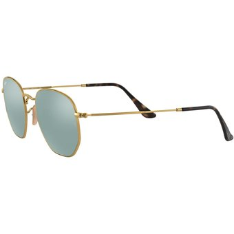 cbada3f32e Compra Gafas Ray Ban Hexagonal Unisex Platinum Flash Lenses online ...