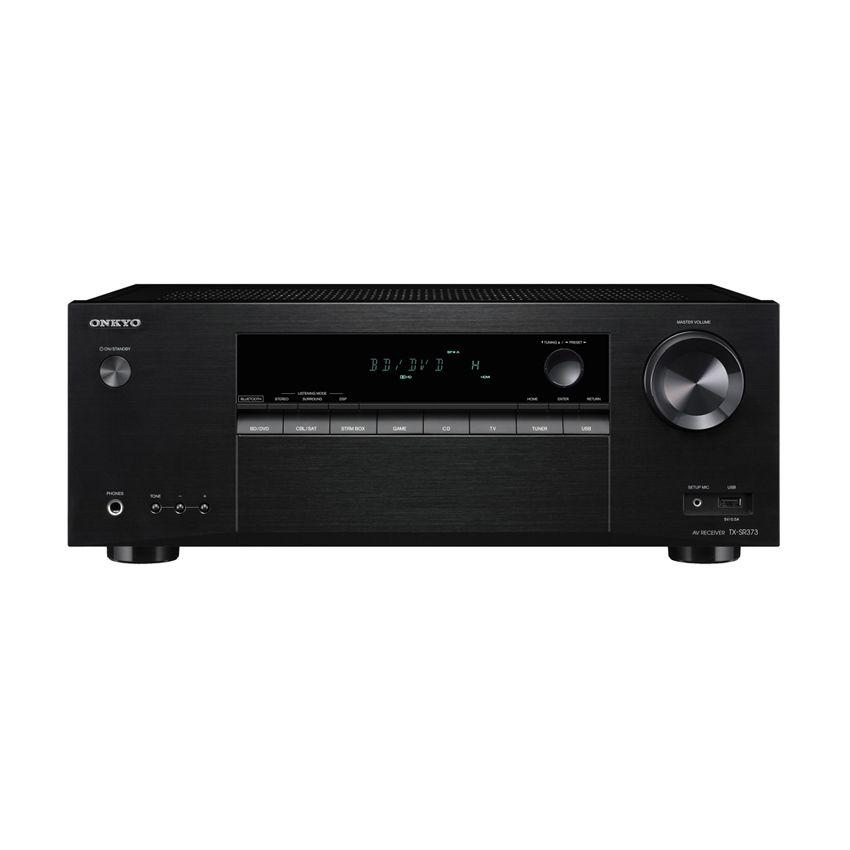 Receiver Audio Video Bluetooth Onkyo TXSR373