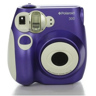 Camara Instantanea Polaroid Pic 300 Original - Purpura