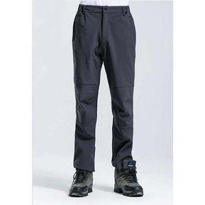 bd0ca6676 Invierno De Los Hombres De Los Deportes Al Aire Libre Pantalones-gris