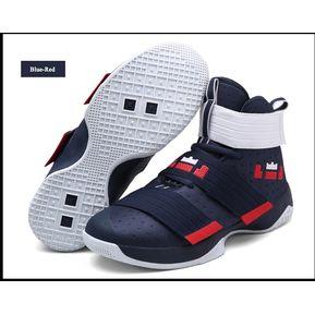 724365b2fe Zapatillas De Baloncesto Hombre Zapatos Hombre Ultra Zapatillas-Azul rojo