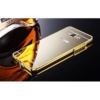 0b248a4900b Case Funda Bumper Aluminio Tipo Espejo Metálico Protector Para Samsung J7  2016 / J710