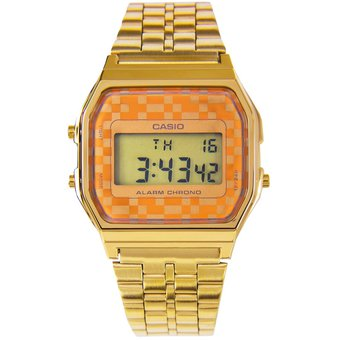 516e155d46bc Reloj Dorado Hombre Mujer Unisex Vintage Casio Iconic A159WGEA-9ADF