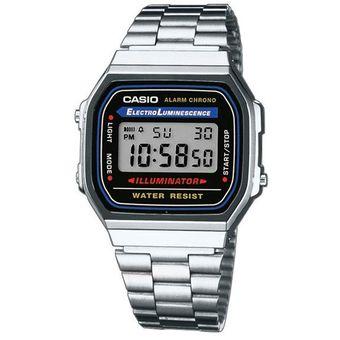 9254609af73f Compra Reloj Casio Vintage A168 Plata online