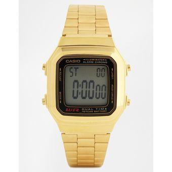 03cd135ef0d5 Compra Reloj Casio Para Dama A178WGA Digital Dorado online