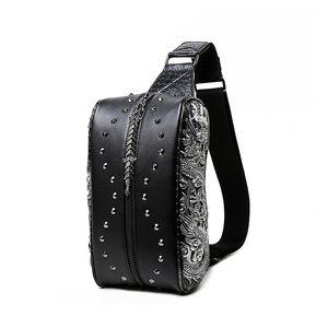 dcdaf1817 Bolsa de pecho pequeña diagonal con hombro Ssangyong 3D y bolso de cintura  de PU para