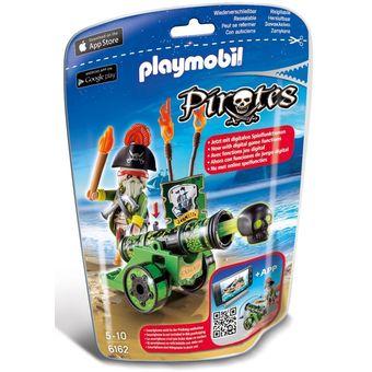 Cañón Pirata Interactivo PlayMobil 6132-Verde