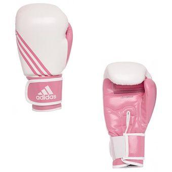 5ee8219e76b2d Compra Guantes De Boxeo Adidas Box Adi-Lady En Cuero Con Maya Blanco ...