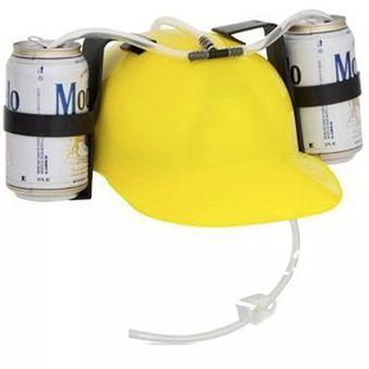 Compra Casco Porta Latas De Cerveza Refresco Bebidas Amarillo online ... 477551b3faa