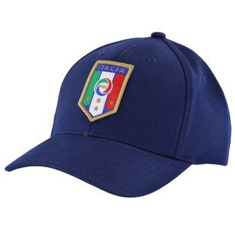 Compra Gorra Puma Italia Sheild Snapback Azul online  c43cfa6db25