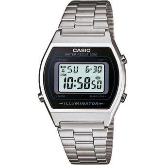 8e44937a468a Compra Reloj CASIO Vintage B640 Caballero Acero Inoxidable-Plata ...