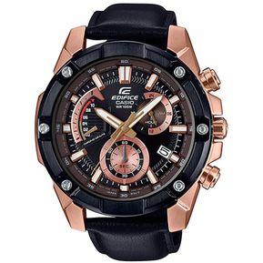 1f5a7c18fe91 Reloj Casio Edifice Cronógrafo EFR-559BGL-1AV Analógico Hombre - Negro Y  Dorado