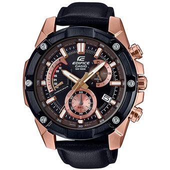 b79614444346 Reloj Casio Edifice Cronógrafo EFR-559BGL-1AV Analógico Hombre - Negro Y  Dorado