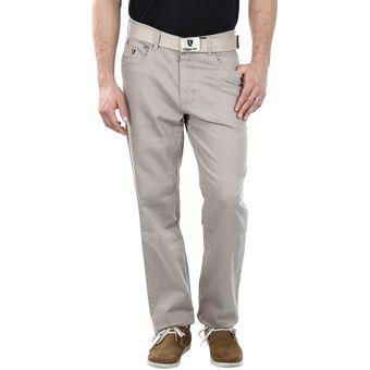 Compra Filippo Alpi - Pantalon Drill Hombre Confort Relax - Beige ... 54b040f6abce
