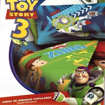 Compra Juego De Sábanas Disney - Toy Story 3 Matrimonial online ... fcc12344ba5