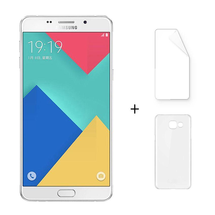 Samsung Galaxy A9 A9000 6.0 Pulgadas Octa-Core 3GB RAM 32GB Blanco + Protector De Pantalla + Estuche