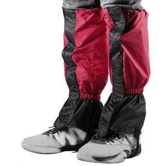 Eh Polainas impermeables guantes de esquí más larga sección de 44cm-Rojo 873905815f8