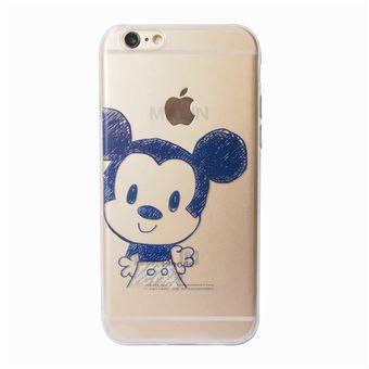 73ca5eb00b0 Agotado Pack de 2 Funda de TPU Silicona la Disney Couples Minnie el beso de Mickey  Mouse