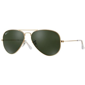 ee0af646a Compra Ray ban aviator rb3025 001/58 dorado/verde oscuro polarizado ...