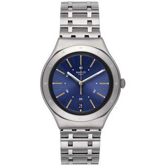 Ygs472g Swatch Ygs472g Reloj Plateado Hombre Hombre Reloj Swatch EDW9IH2