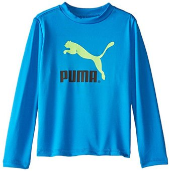 Compra Playera Sport Para Bebe Marca Puma- Azul online  13c18af170744