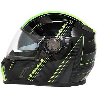 Sombra de color plateado para visera de casco de motocicleta.