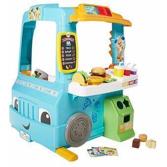 1c0e7106f Compra Fisher Price Food Truck Ríe Y Aprende Cocina Carro online ...