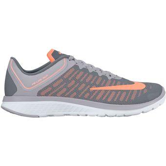 Compra Zapatillas Nike Para Mujer-Gris Con Naranja 852448-009 (5 -8 ... dd963741c0ead