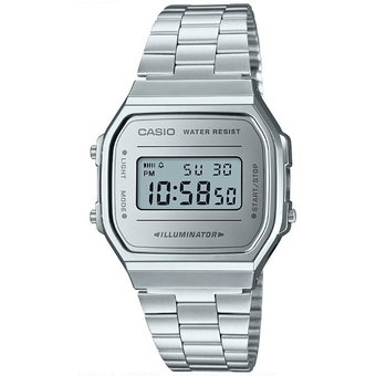 fc4f03c65daa Reloj Casio Retro Vintage A168 Plata Espejo Plata- 100% Original Cfmx