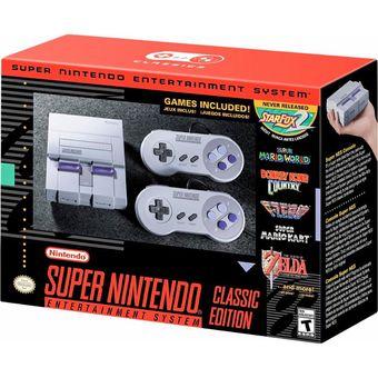 Consola Super Nintendo Classic Edition Mini Nes