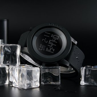 Reloj Deportivo SKMEI 1142 para Hombre-Negro
