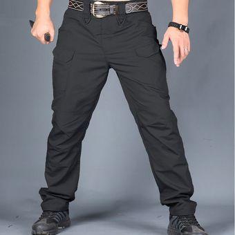 Pantalones Tacticos Delgado Multibolsillo Para Senderismo Negro Linio Peru Ch411sp07zeeulpe