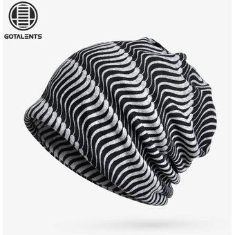 Compra Sombreros Para Unisex- Casco De Doble Uso Impreso-Negro ... 7b4b360c57d