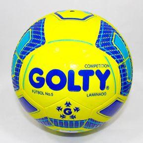 866e215087c3c Balon De Futbol Competition Laminado T656650 - Amarillo