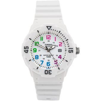 1704ff2f3310 Compra Reloj Casio LRW-200H-7BV Analógico Mujer - Blanco online ...